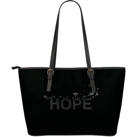 Hope 2 Large Leather Tote Bag