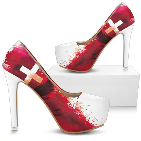 Blood of Jesus - Women's Heels