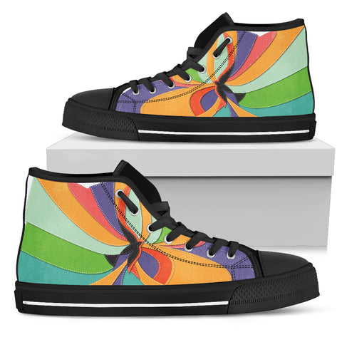 Women's High Top - Spirit of Color
