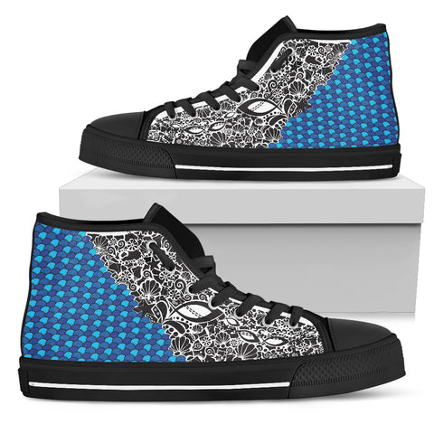Women's High Top - Fish Army