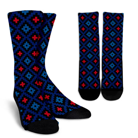 All Ethnic - Women's Crew Socks