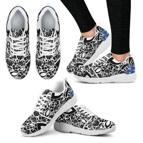 Fish Army - Women's Athletic Sneakers
