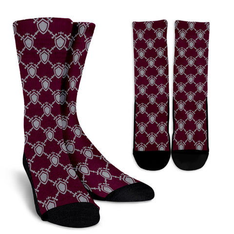 Guard Against - Women's Crew Socks