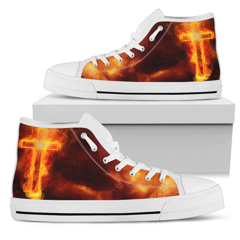 Men's High Top - Fire
