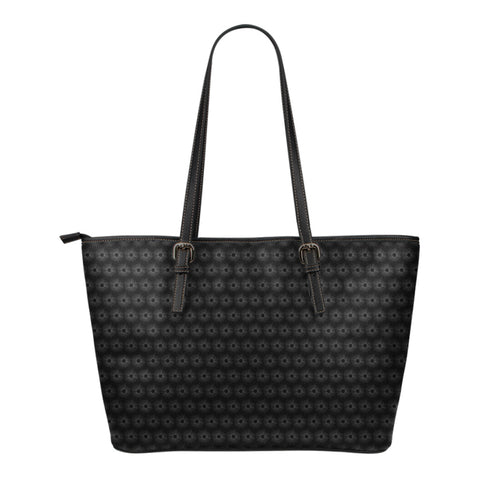 Time to Shine - Small Leather Tote Bag