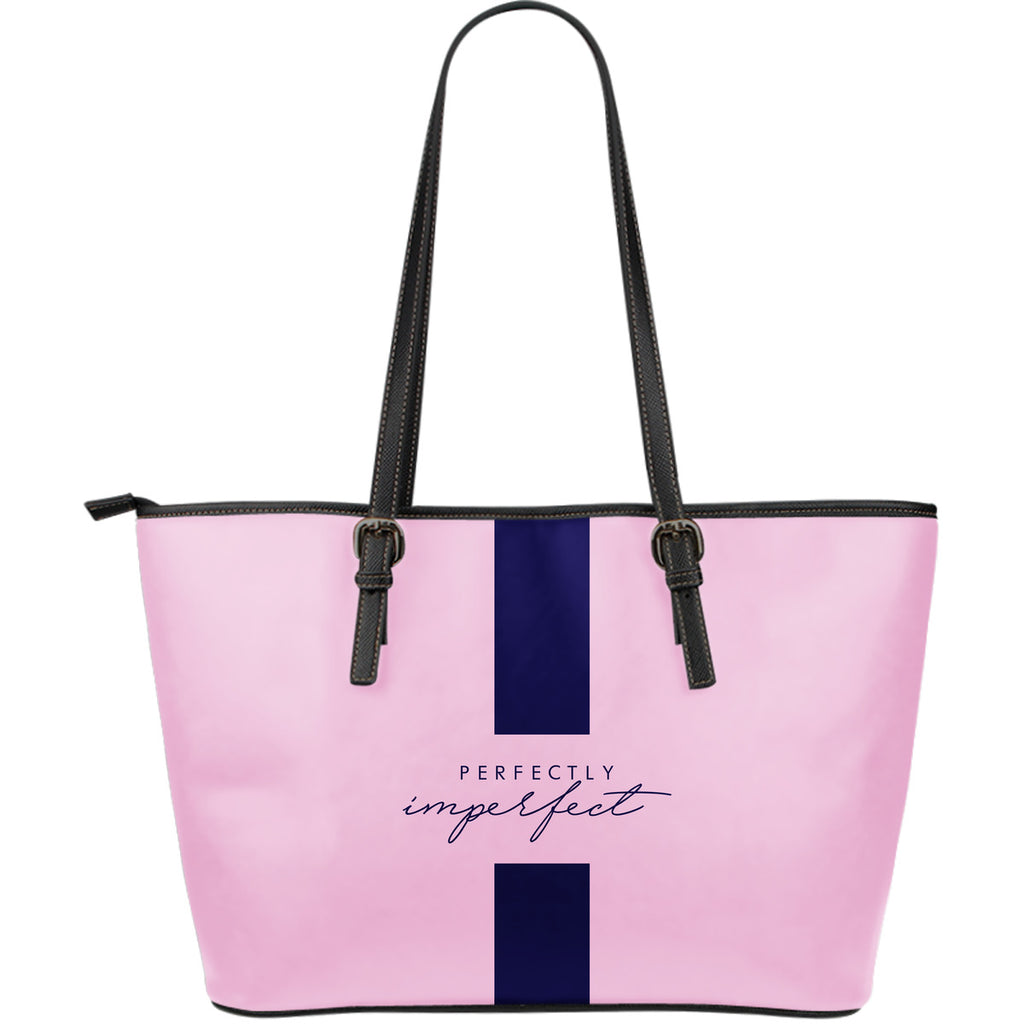 Perfectly Imperfect - Large Leather Tote Bag