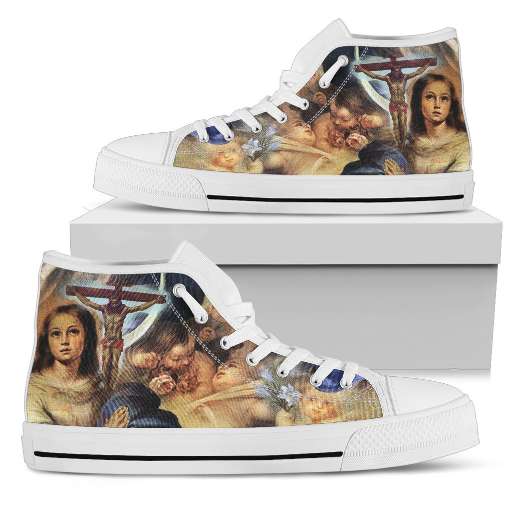 Women's High Top - Art of Christ