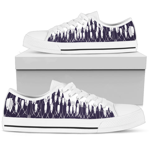 Women's Low Top - Fish Arise