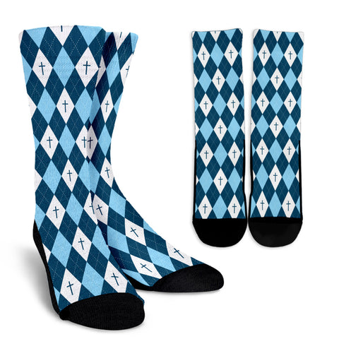 Gospel Diamond - Men's Crew Socks