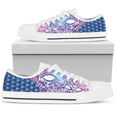 Women's Low Top - Fish Attack