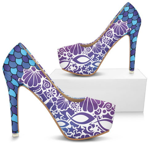Fish Attack - Women's Heels