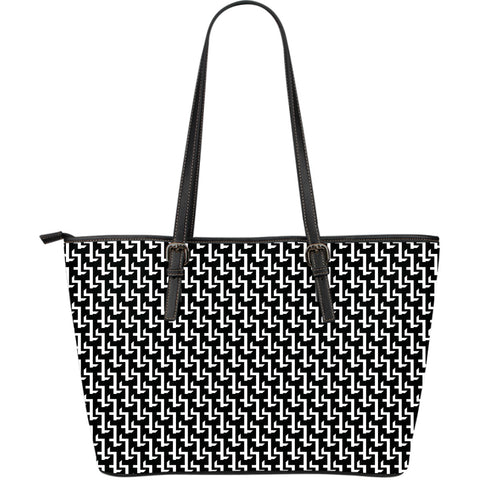 Cross Large Leather Tote Bag
