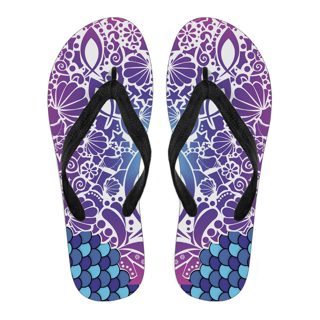 Fish Attack - Women's Flip Flops