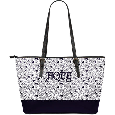 Hope Large Leather Tote Bag