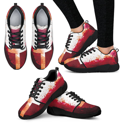 Blood of Jesus - Women's Athletic Sneakers