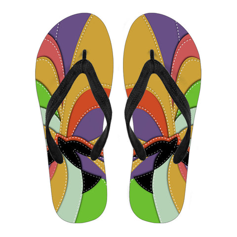 Spirit of Color - Men's Flip Flops