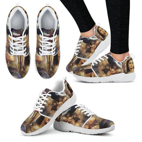 Art of Christ - Women's Athletic Sneakers