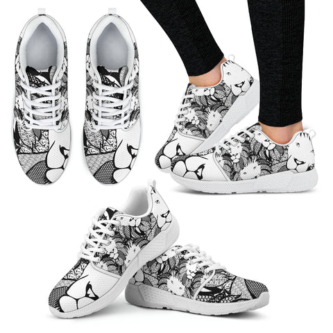 Lion of Praise - Women's Athletic Sneakers