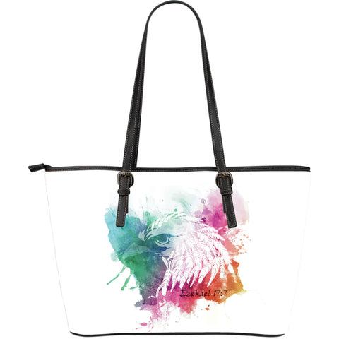 Eagle Large Leather Tote Bag