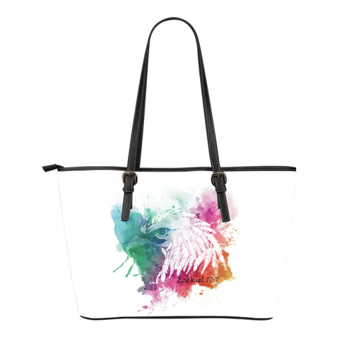 Eagle Small Leather Tote Bag