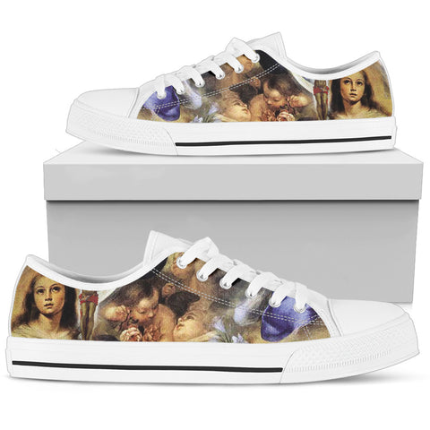 Women's Low Top - Art of Christ