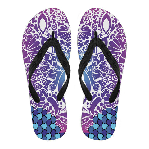 Fish Attack - Men's Flip Flops