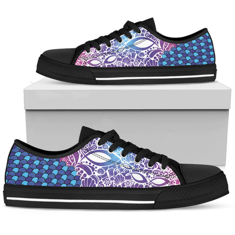 Men's Low Top - Fish Attack