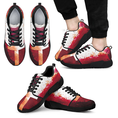 Jesus Blood - Men's Athletic Sneakers