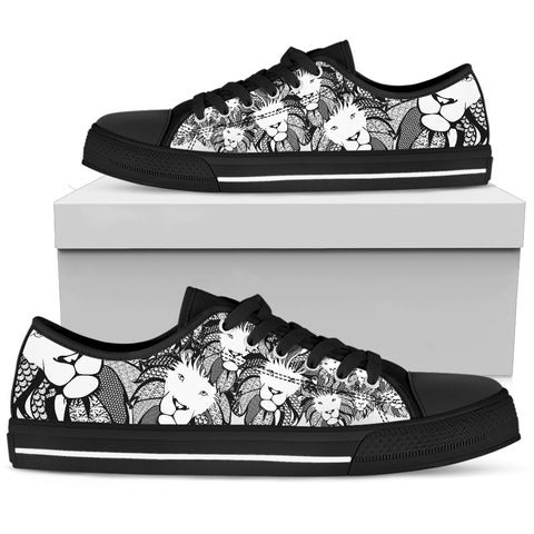 Women's Low Top - Lion of Praise