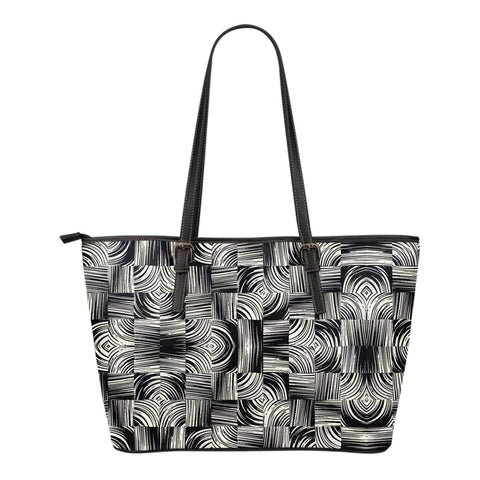 Entangled to You - Small Leather Tote Bag