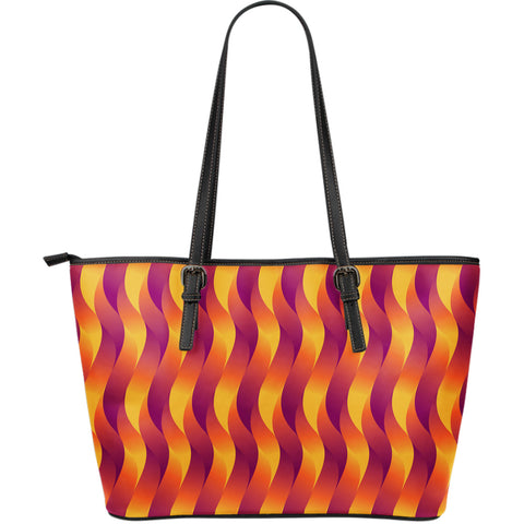 Pentecost  - Large Leather Tote Bag