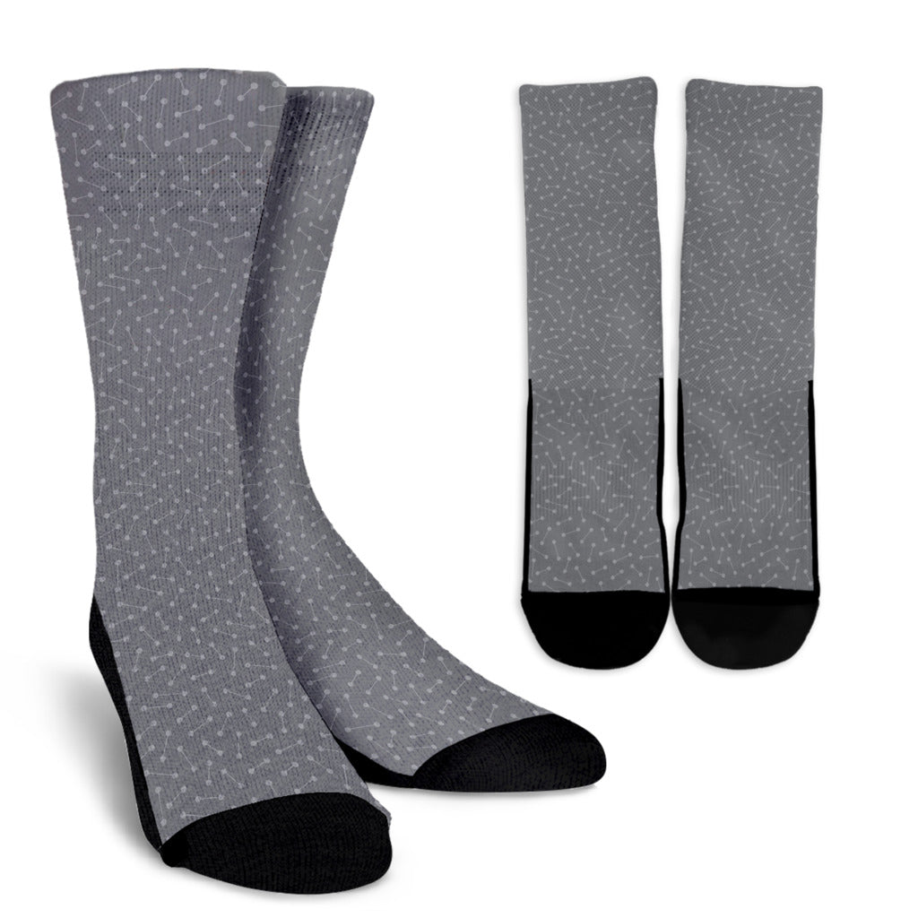 Connect and Engage - Men's Crew Socks