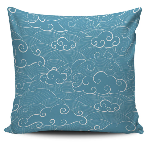 He is Coming from the Cloud - Pillow Covers