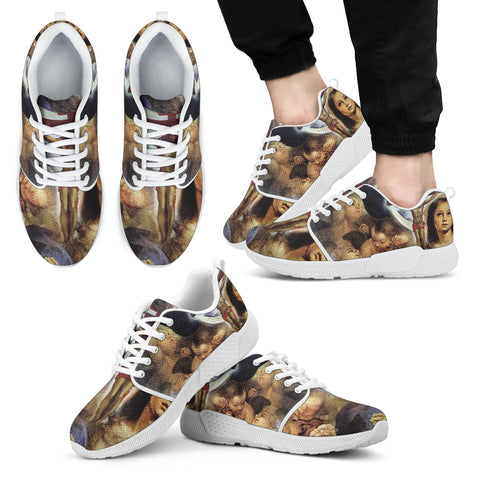 Art of Christ - Men's Athletic Sneakers
