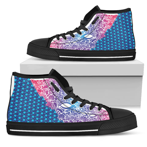 Men's High Top - Fish Attack