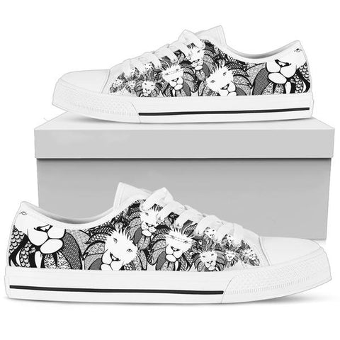 Men's Low Top - Lion of Praise