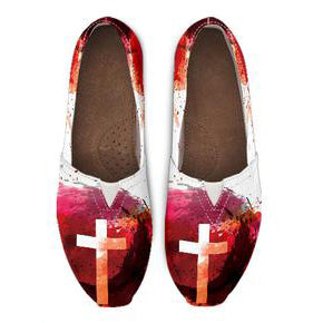 Blood of Jesus - Women's Casual Shoes