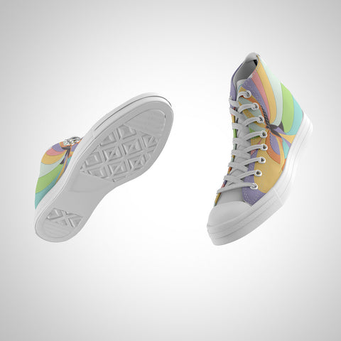 Men's High Top - Spirit of Color