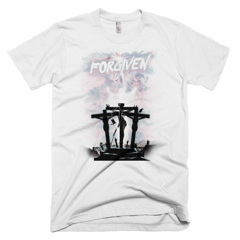 Men's Short-Sleeve T-Shirt - Forgiven - Grey