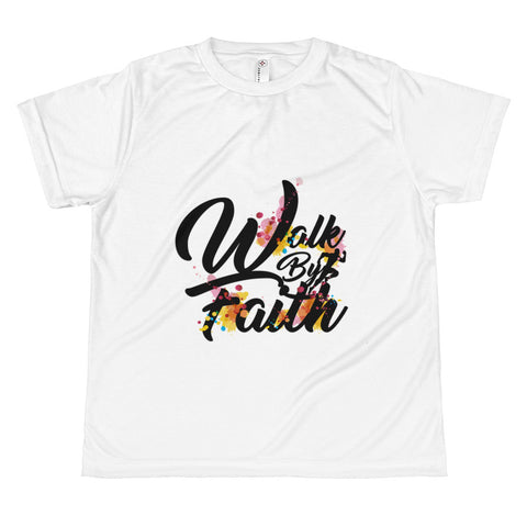 Walk By Faith - All-over Teens Tshirt