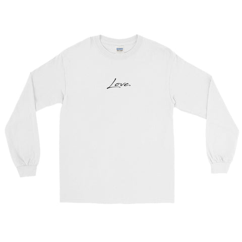 Women's Long Sleeve T-Shirt - Love - Black