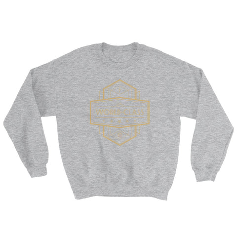 Women's Sweatshirt - World Class - Gold