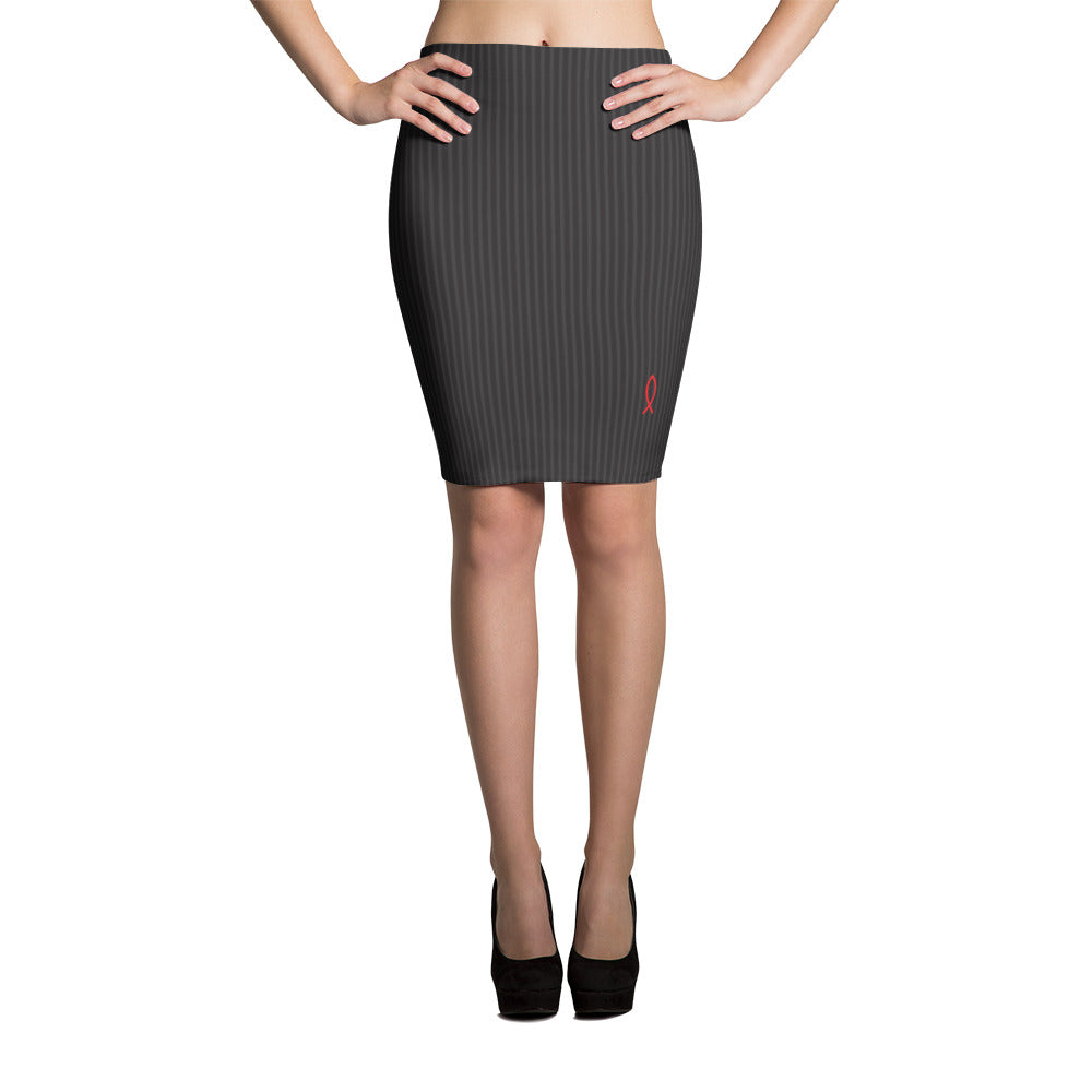 Fish Flow - Pencil Skirt