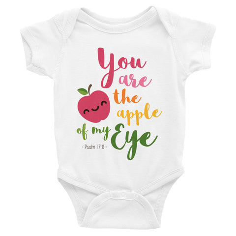 Apple of My Eye - Infant Bodysuit