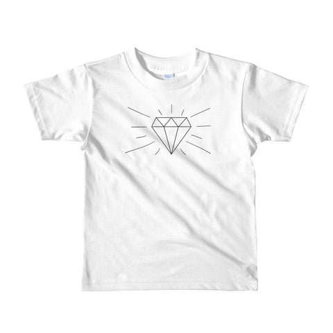 Diamond in Me - Short sleeve kids t-shirt