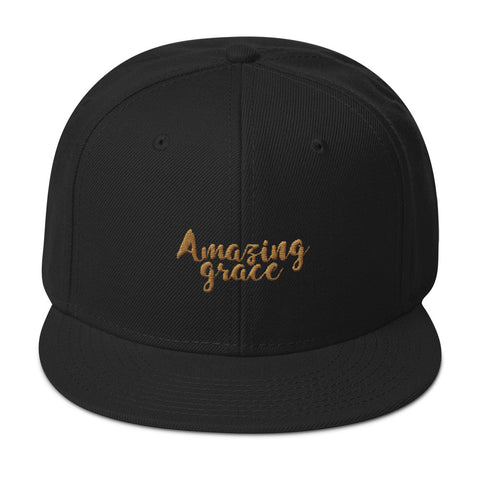 Snapback Hat - Amazing Grace