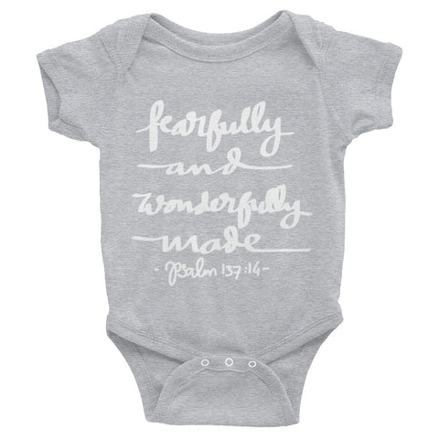 Fearfully and Wonderfully Made - Infant Bodysuit