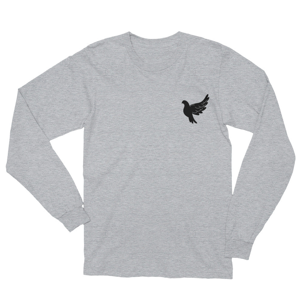 Unisex Long Sleeve T-Shirt - Dove