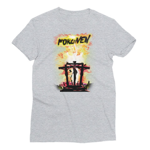 Women's Short Sleeve T-Shirt  - Forgiven - Yellow