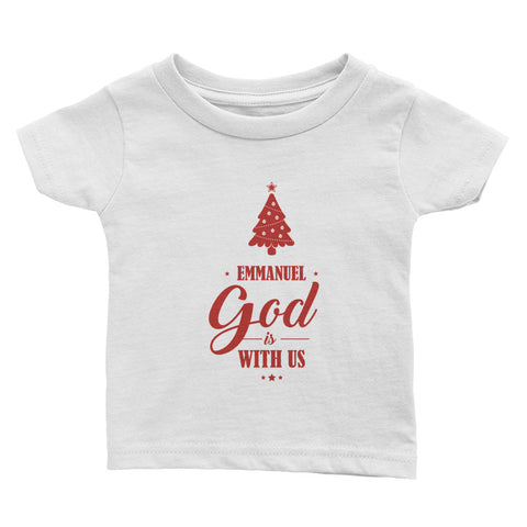 Infant Tee - Matthew 1:23 Emmanuel. God is with us.